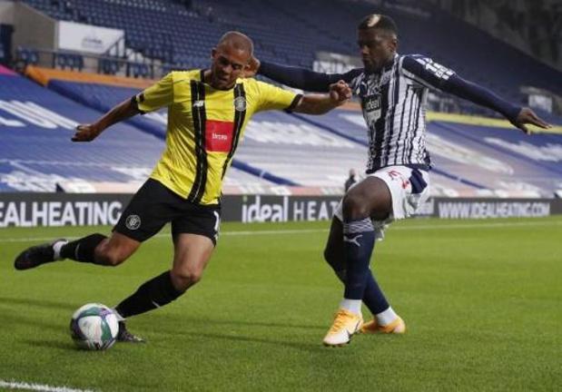 Cédric Kipré (West Bromwich Albion) prêté à Charleroi