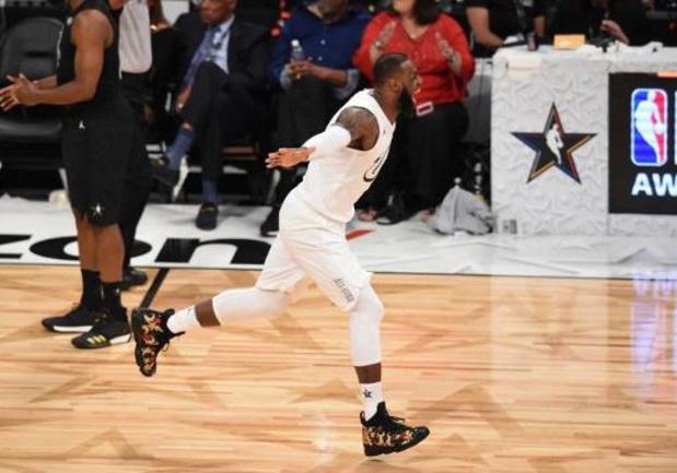 LeBron James et Kevin Durant ont constitué leur équipe pour le All-Star Game