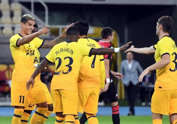 Europa League - Tottenham, Milan en Wolfsburg stoten door naar play-offs