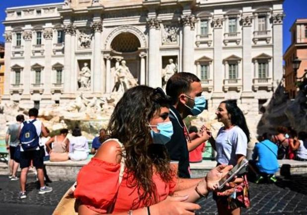L'Italie enregistre son plus haut chiffre de nouveaux cas depuis mai