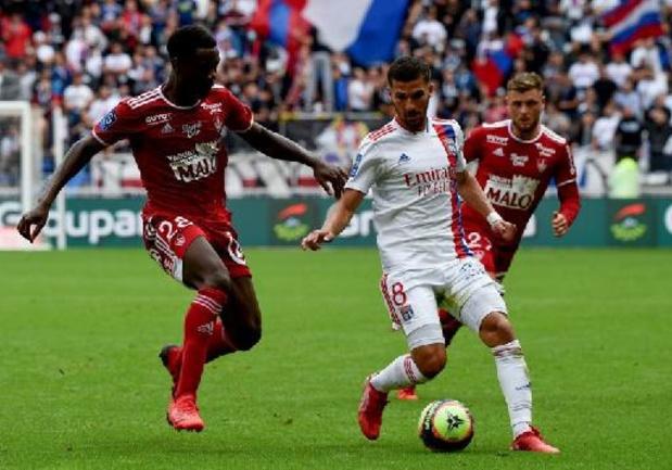 Ligue 1 - Lyon, sans Denayer, tenu en échec par Brest en début de championnat