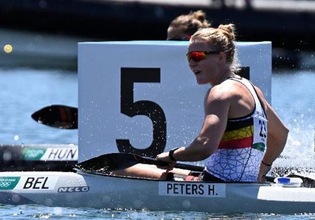 OS 2020 - Hermien Peters grijpt naast de medailles in K1 500m