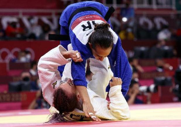 JO 2020 - Charline Van Snick file en quarts de finale en -52 kg