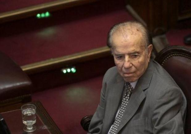 Voormalige Argentijnse president Carlos Menem overleden
