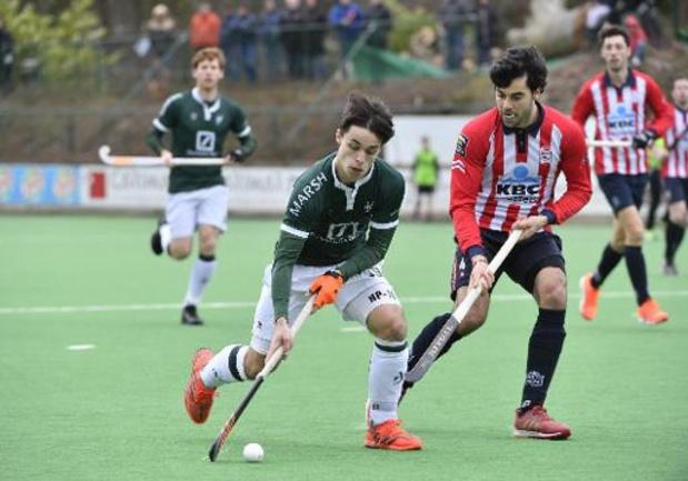 Belgian Men Hockey League - Le Waterloo Ducks bat le Braxgata 6-2 en match d'alignement et remonte à la 3e place