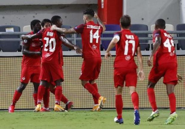 Champions League - Salzburg, Krasnodar en Midtjylland plaatsen zich als laatste teams voor het kampioenenbal