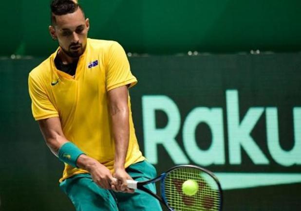 """Coupe Davis - Kyrgios, avant Belgique/Australie: """"Nous pouvons gagner cette Coupe Davis, c'est sûr"""""""