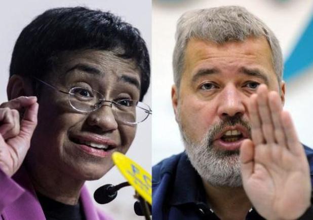 Nobelprijs voor de Vrede gaat naar twee journalisten
