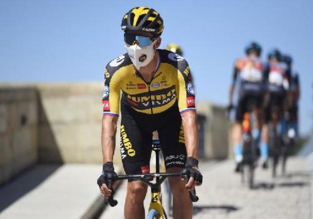 Tour d'Espagne: Primoz Roglic s'offre la 11e étape, Odd Christian Eiking reste en tête du général
