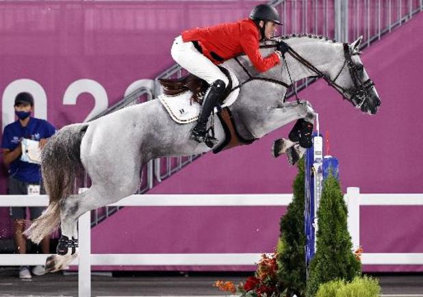 JO 2020: Pas de médailles pour les cavaliers belges dans le saut d'obstacles