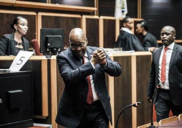 Voormalig Zuid-Afrikaans president Jacob Zuma moet terechtstaan voor corruptie