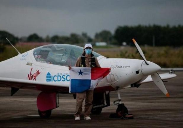 Belgisch-Britse die als jongste vrouw rond de wereld vliegt, zit vast in Alaska