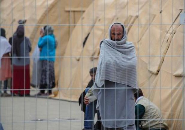 Groep migranten zit al twee weken vast aan grens tussen Polen en Wit-Rusland