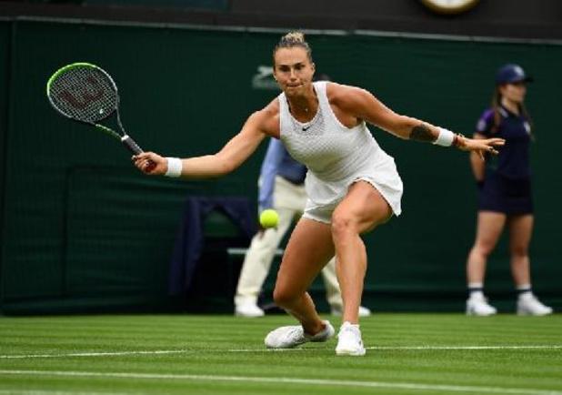 Aryna Sabalenka se hisse sans difficulté au deuxième tour