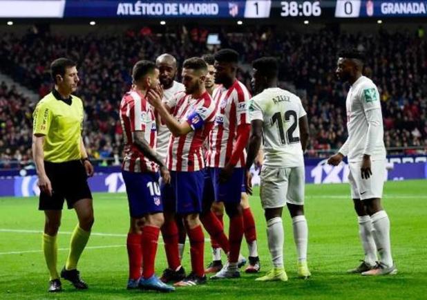 Belgen in het buitenland - Atlético met invaller Carrasco voorbij Granada