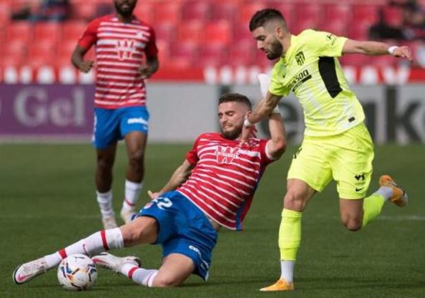 Yannick Carrasco victime d'une blessure musculaire à la jambe gauche