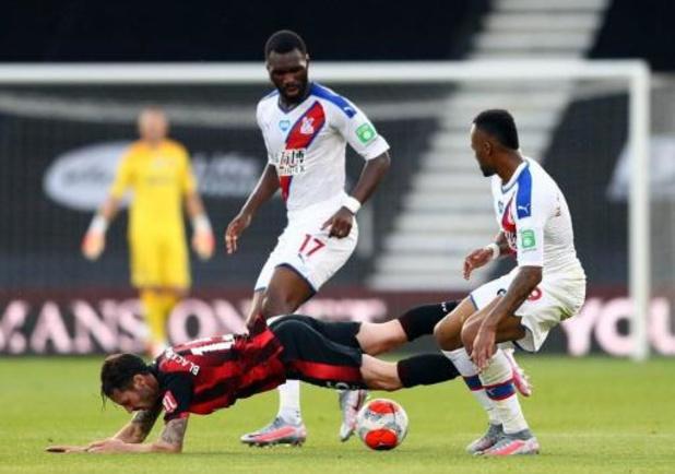 Belgen in het buitenland - Crystal Palace en Benteke pakken drie punten bij Bournemouth