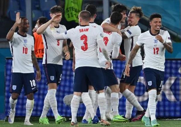 EK 2020 - Engeland heeft geen enkele moeite met Oekraïne en mag terugkeren naar Wembley