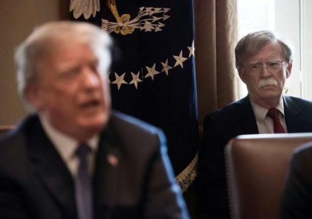 Trump wilde in 2018 terugtrekking van VS uit NAVO aankondigen, zegt Bolton