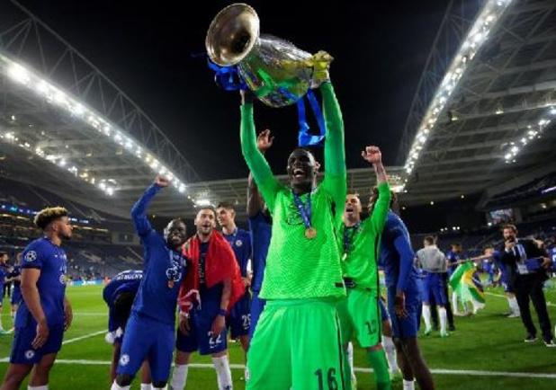 Edouard Mendy élu Gardien de l'année pour la saison 2020-2021