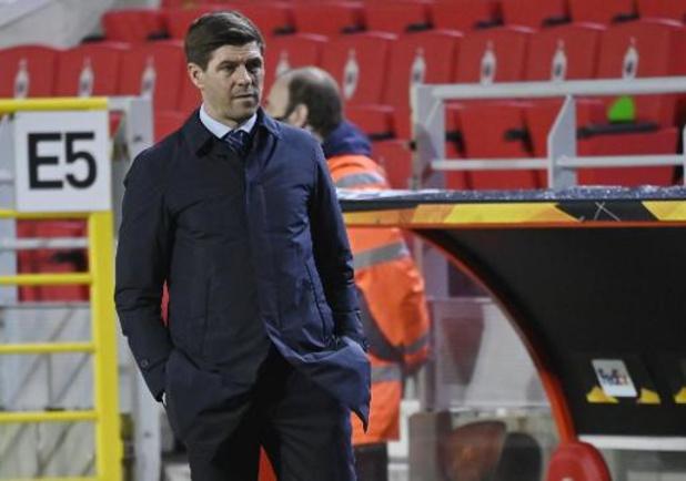 Steven Gerrard veut voir les meilleurs Rangers au retour contre l'Antwerp
