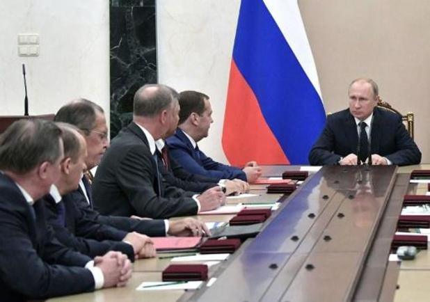 Russische regering stapt op