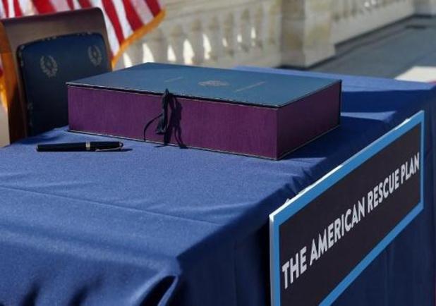 VS-president Biden heeft relanceplan getekend