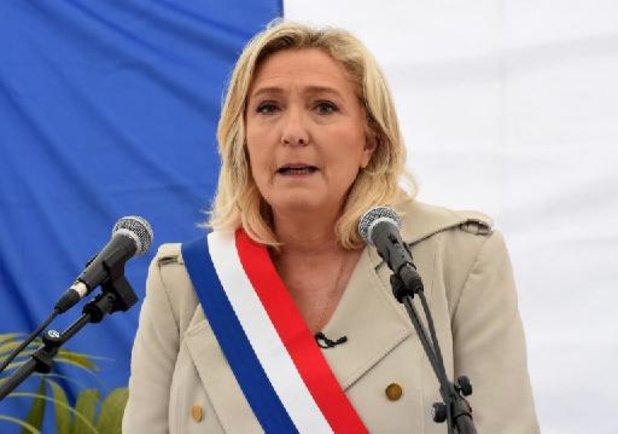 Marine Le Pen herkozen als partijleidster Rassemblement National