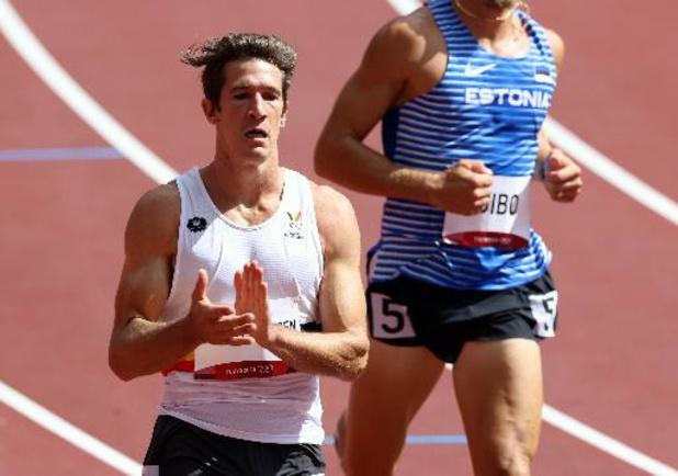 OS 2020 - Thomas Van der Plaetsen opent tienkamp met zeventiende stek in 100m