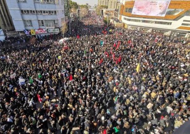 Update: zeker 40 doden bij paniek tijdens rouwstoet voor Soleimani
