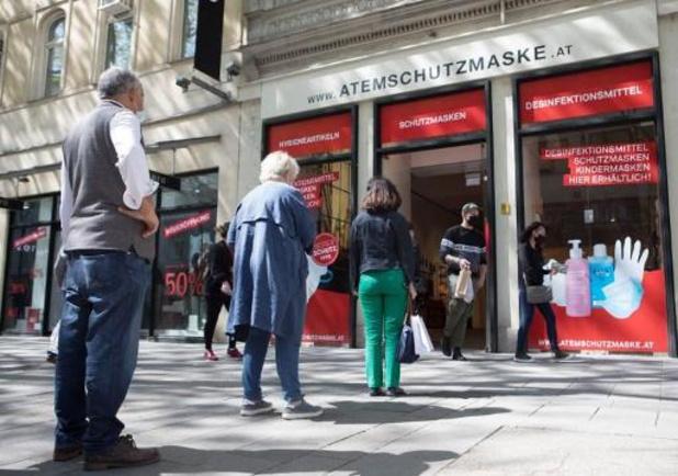 Opnieuw meer dan 1.000 gevallen in Oostenrijk