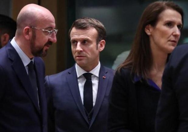 Sommet européen - Depuis Bruxelles, Emmanuel Macron souhaite une bonne fête nationale aux Belges