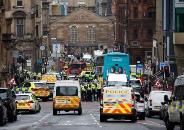 """L'attaque de Glasgow n'est """"pas considérée comme du terrorisme"""""""