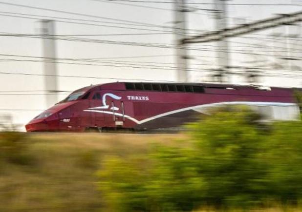 Les trains à grande vitesse roulent à allure réduite