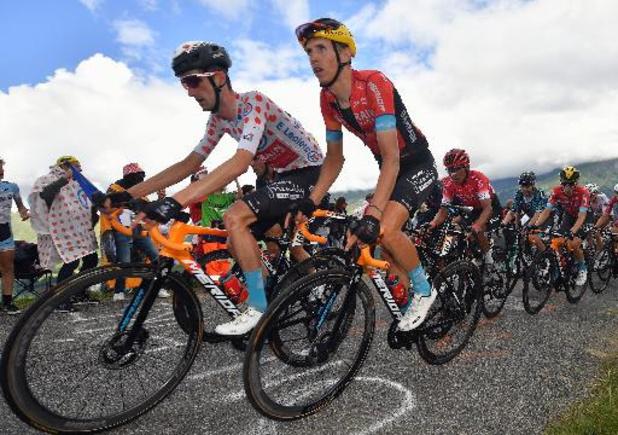 """Teuns wordt tiende in koninginnenrit Tour de France: """"Denk niet aan de Spelen"""""""
