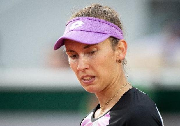 """Roland-Garros - Mertens, battue en double : """"Ce sera sans doute difficile de jouer avec Flipkens à Tokyo"""""""