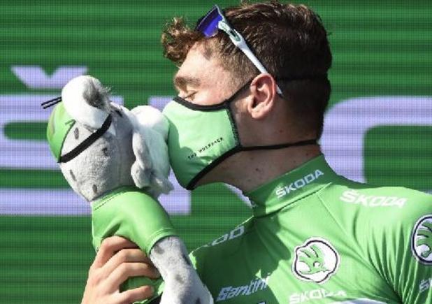 Vuelta - Fabio Jakobsen mag met groene trui naar huis