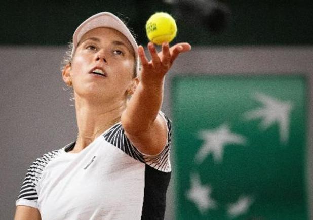 """Roland-Garros - Elise Mertens: """"Le service et l'agressivité de Garcia ont fait la différence"""""""