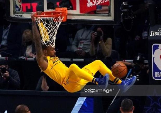 NBA-speler Damian Lillard rondt kaap van 50 punten tegen New Orleans