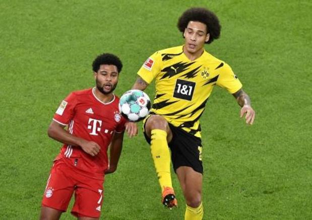Les Belges à l'étranger - Le Bayern remporte le Klassiker à Dortmund