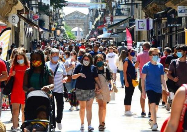 Coronavirus - Tweede dag op rij met meer dan 3.000 nieuwe gevallen in Frankrijk