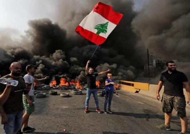 Winkels en scholen blijven gesloten in Libanon door protesten
