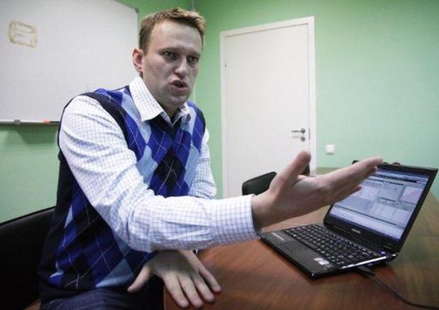 Navalny en journalistencomité getipt voor Nobelprijs voor Vrede