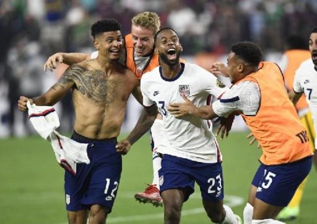 Gold Cup - Les Etats-Unis gagnent la Gold Cup en battant le Mexique en prolongations