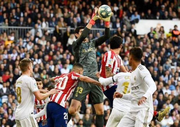 Les Belges à l'étranger - Le Real et Courtois se jouent de l'Atlético, malgré le retour de Carrasco