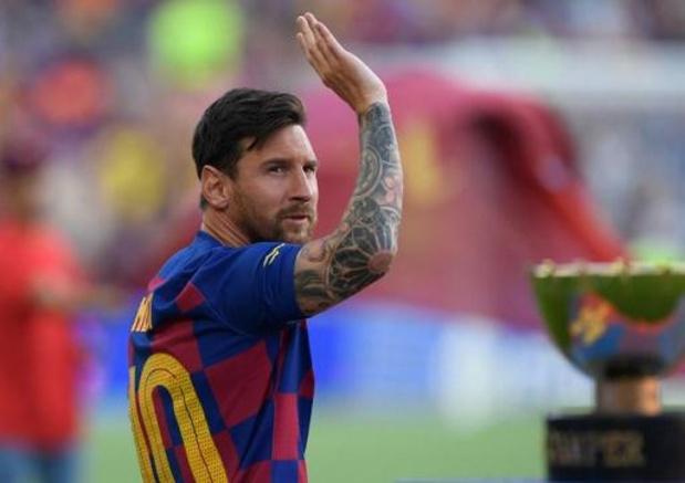 """""""Weet niet of Barcelona hem terugwilde"""", zegt Messi over afgesprongen transfer van Neymar"""