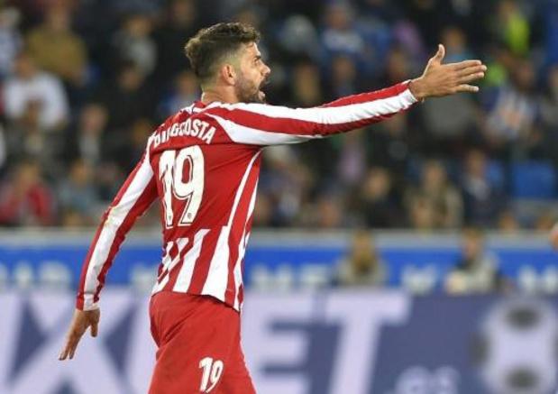 L'attaquant de l'Atlético Madrid Diego Costa opéré d'une hernie cervicale