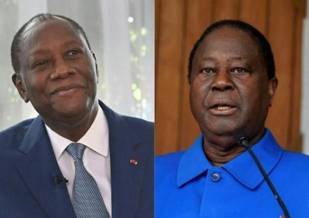 """Présidentielle en Côte d'Ivoire - Ouattara et Bédié ont """"brisé la glace"""""""
