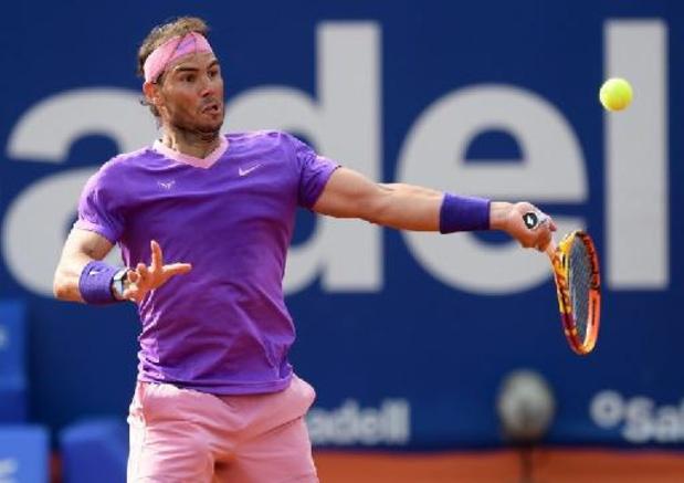 Rafael Nadal blijft op koers voor twaalfde titel in Barcelona