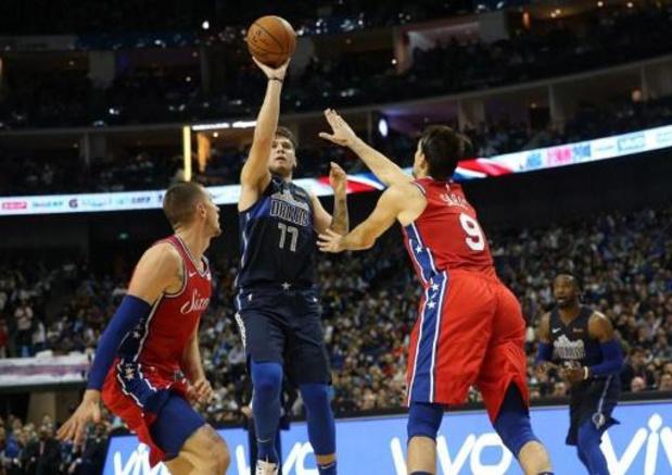 NBA - NBA-sensatie Luka Doncic evenaart record van Michael Jordan
